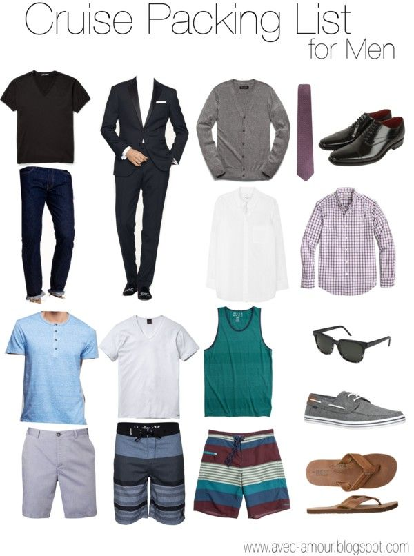 How to look good on a cruise men 39 s lifestyle and fashion for Best cruise to take