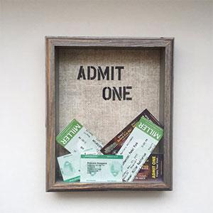 ticket-shadow-box
